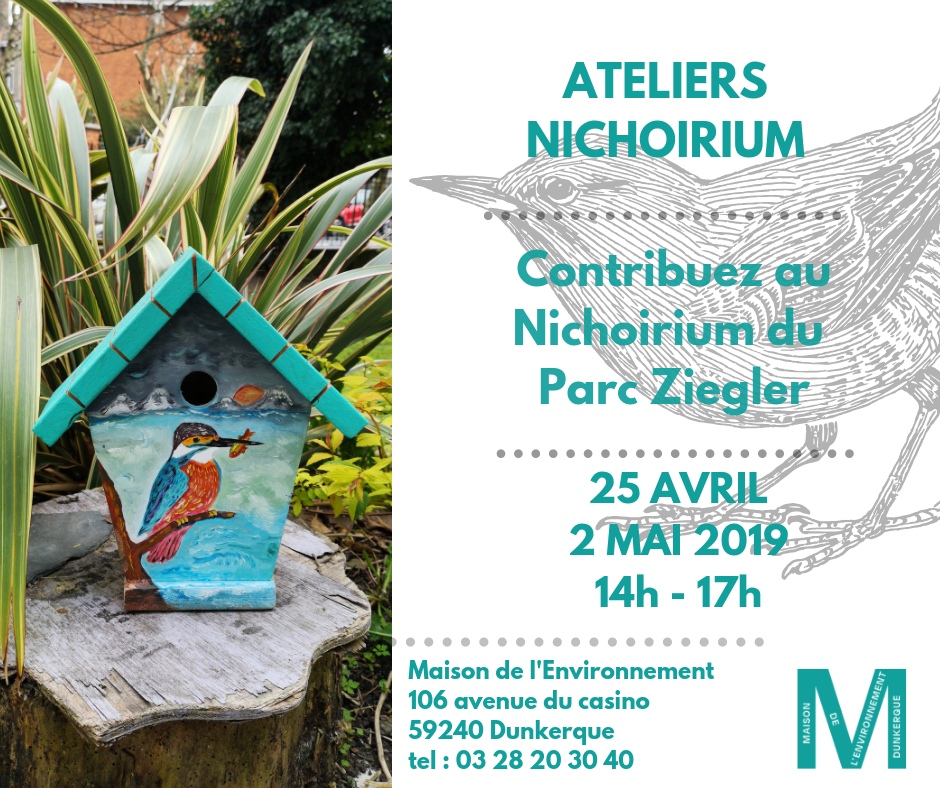 Contribuez au Nichoirium du Parc Ziegler - photo de nichoirium Martin Pêcheur